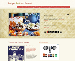 Recipes Past and Present