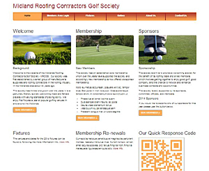 Midland Roofing Contractors Golf Society